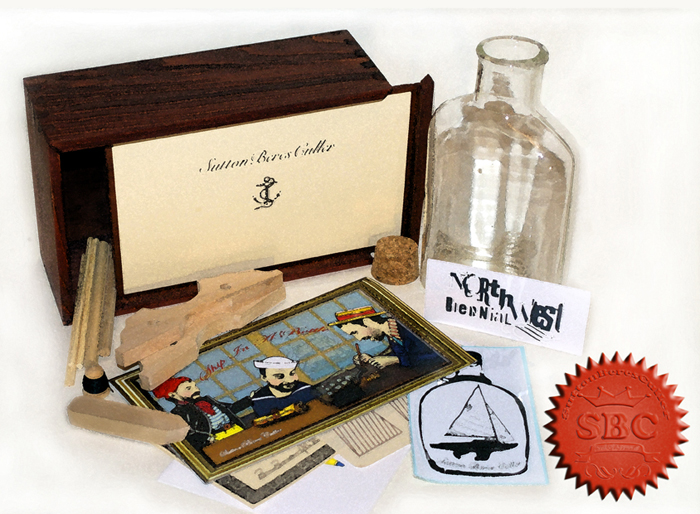 To learn how you can purchase your own SuttonBeresCuller Ship-In-A-Bottle kit,  please write mail@suttonberesculler.com!